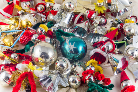 czechoslovakia: Historic Czechoslovakia Christmas glass decoration figures