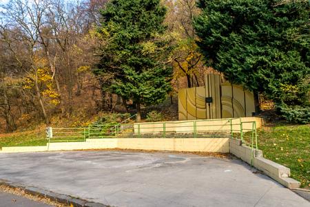 World war II memorial for vitims in Bratislava, Slovakia