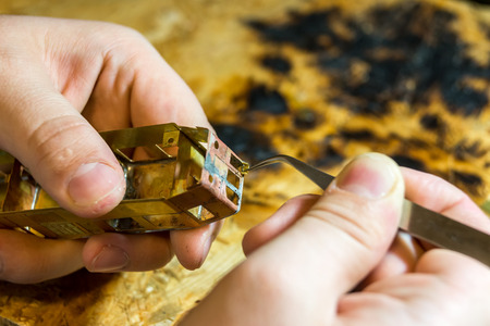 crafted: Precisely hand crafted model locomotive