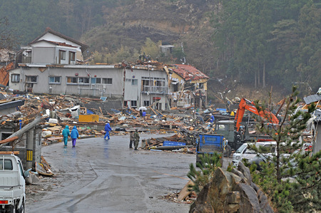 tremor: Great East Japan Earthquake Tsunami