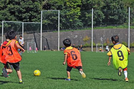 legroom: Boys playing soccer