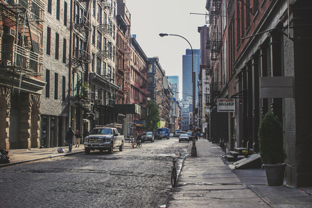 Scenery of Soho in New York