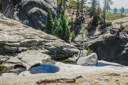 nature scenery: Beautiful nature scenery at Yosemite National Park, California
