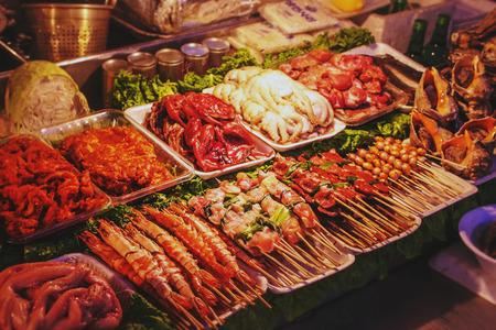 stall: Street stall in Korea