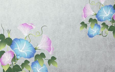ipomoea: Japanese style background image