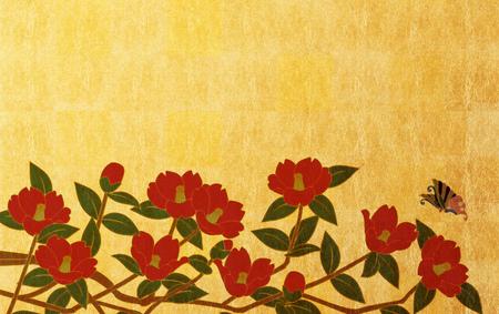 Japanese style background image Reklamní fotografie - 55085694