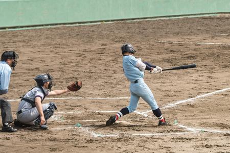 High School Baseball-speler