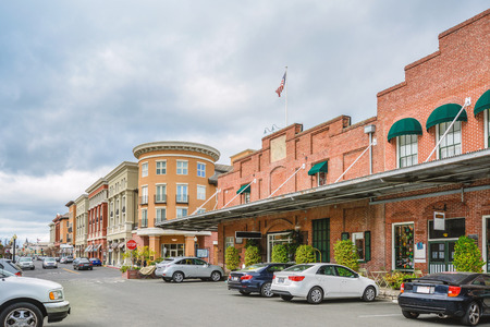 Scenery of the Napa downtown