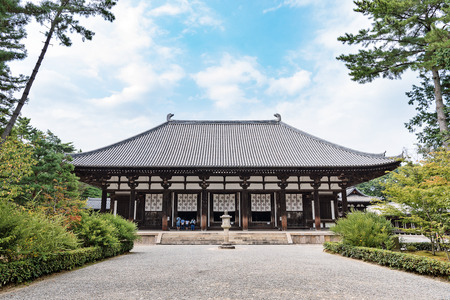 Toshodaiji temple in Nara Editorial