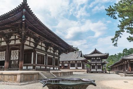 Toshodaiji temple in Nara 新聞圖片