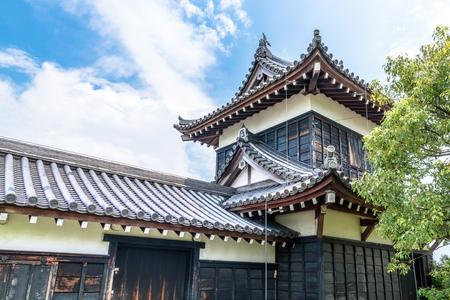 Scenery of the Koriyama Castle in Yamatokoriyama city, Nara, Japan Editorial