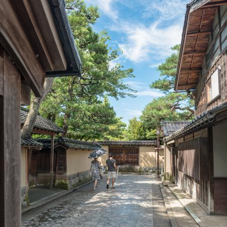 Townscape of the samurai residence in Kanazawa city