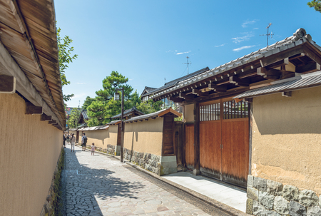 townscape: Townscape of the samurai residence in Kanazawa city