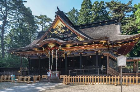 Osaki Hachimangu at the shrine in Sendai, Japan