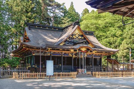 hachimangu: Osaki Hachimangu at the shrine in Sendai, Japan