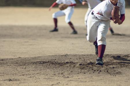 High school honkbalspeler