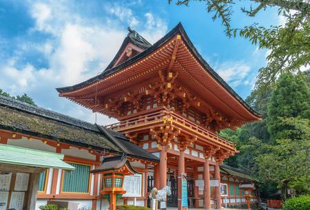 Scenery of the Kamigamo Shrine in Kyoto