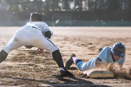 야구 게임의 풍경