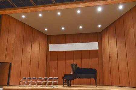 Piano op het podium