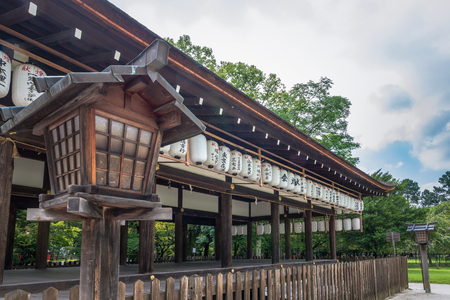 national historic site: Scenery of the Kamigamo Shrine in Kyoto