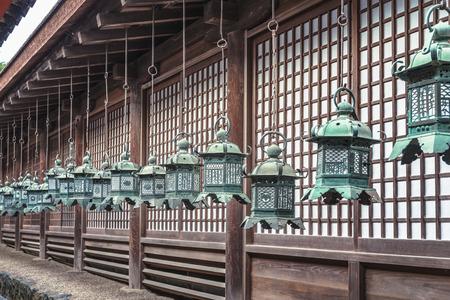 Hanging lantern of the World heritage Kasuga Taisha Shrine