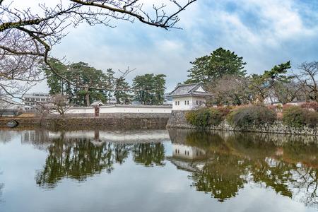 odawara: Scenery of the Odawara Castle in Odawara city, Kanagawa, Japan