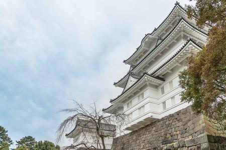 odawara: The castle tower of the Odawara Castle in Kanagawa, Japan