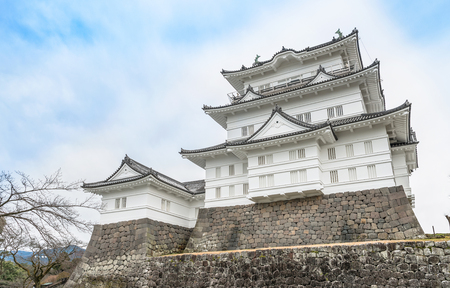 The castle tower of the Odawara Castle in Kanagawa, Japan