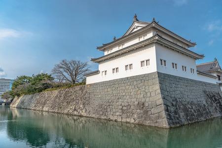 Scenery of the Sunpu Castle in Shizuoka