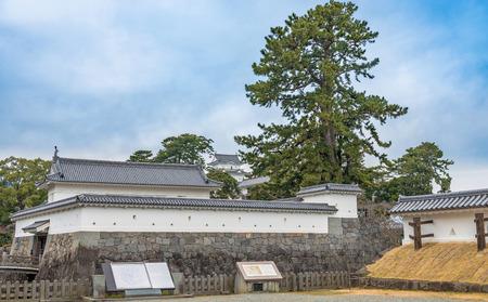 odawara: Scenery of the Odawara Castle in Kanagawa, Japan Stock Photo
