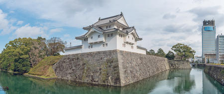 Scenery of the Sunpu Castle in Shizuoka, Japan Reklamní fotografie