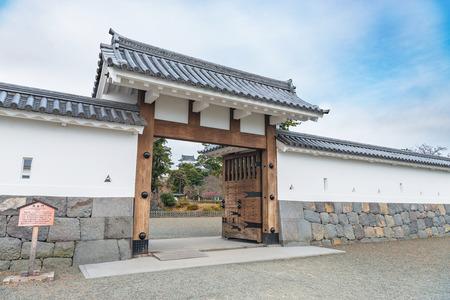 odawara: Scenery of the Odawara Castle in Kanagawa, Japan Editorial
