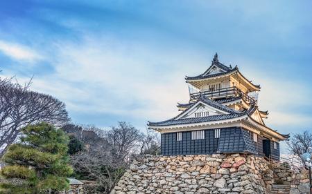 Evening scenery of the Hamamatsu Castle 報道画像