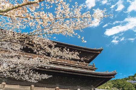 Spring scenery of the Nanzenji temple in Kyoto Editorial
