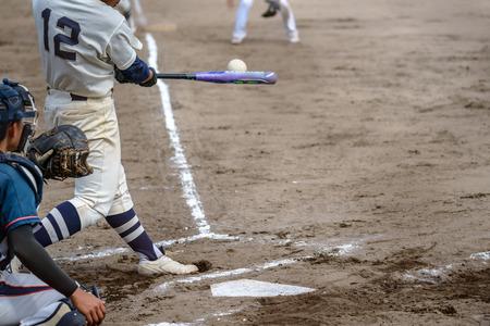 ballpark: Game scenery of the softball