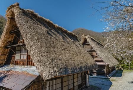 gokayama: Old house of the World Heritage site Suganuma (Gokayama) mountain village in Toyama, Japan Stock Photo