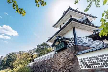 Ishikawa-Mon gate of Kanazawa-jo castle in Kanazawa city, Japan