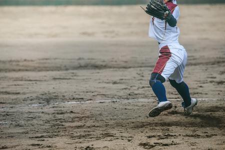 ballpark: Game scenery of the womens softball