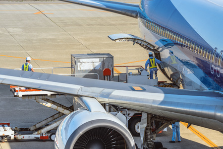 Loading of the air cargo