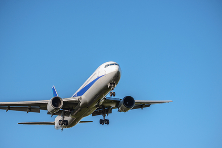 The aircraft which takes off and lands