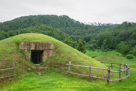 Old burial mound