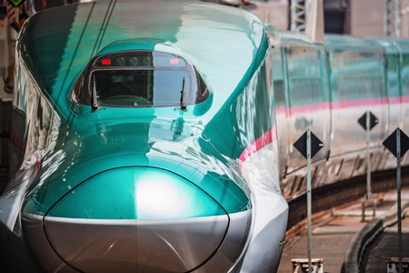 The E5 Series Shinkansen bullet train