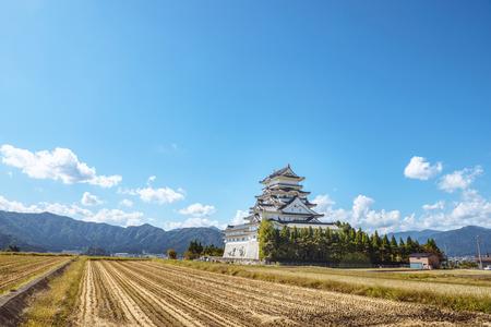 Scenery of the Echizen Katsuyama Castle in Fukui prefecture, Japan