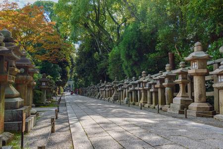 Scenery of the Iwashimizu hachimangu shrine