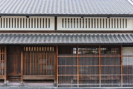 Traditional town house at Fushimi, Kyoto