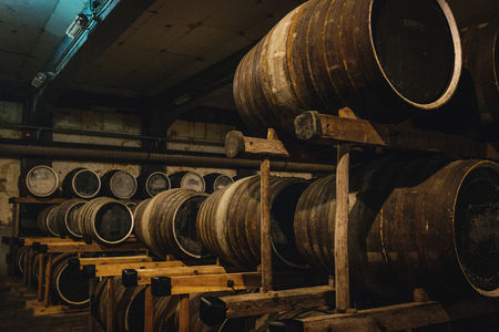 Distillery of whisky Editorial