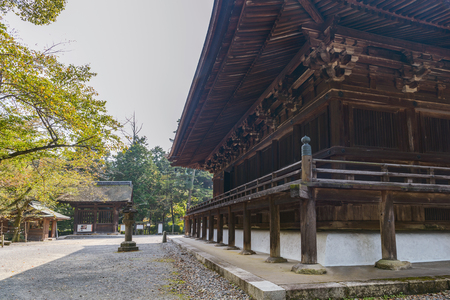 The Golden Hall (National Treasure of Japan) of the Mii dera temple