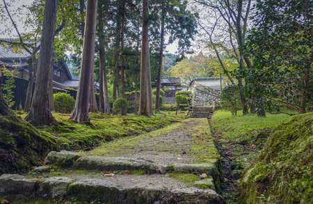 Scenery of the Mii dera temple in Otsu, Japan Stok Fotoğraf - 94113754