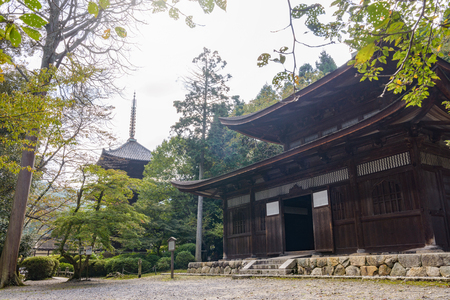 Issai Kyozo of the Mii era temple (Important Cultural Property): Architecture during the Muromachi period