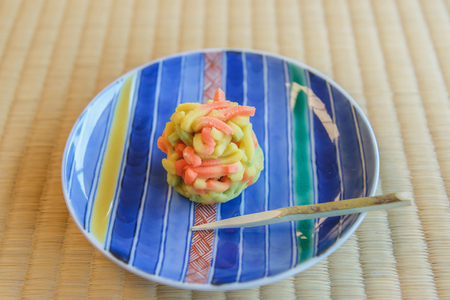 High grade Japanese fresh confections Stock Photo